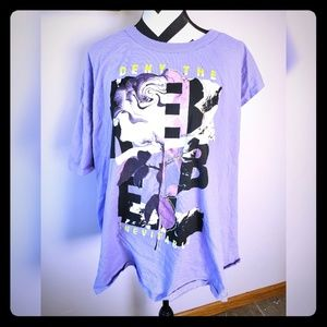 Never worn! ASOS Curve Rebel t-shirt size 24.